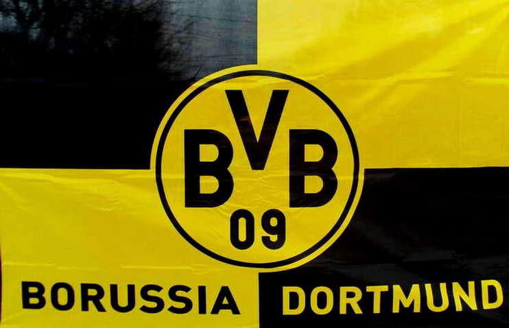 Bvb Borussia Dortmund Hissfahne Fahne Flagge 120cm X