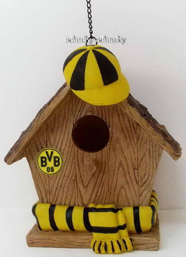 Bvb Borussia Dortmund Witzige Vogelhaus Futterhaus Neu
