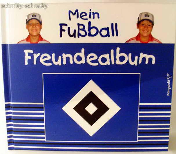 Details zu *hsv*hamburger sv*mein fußball freundebuch*ne u*