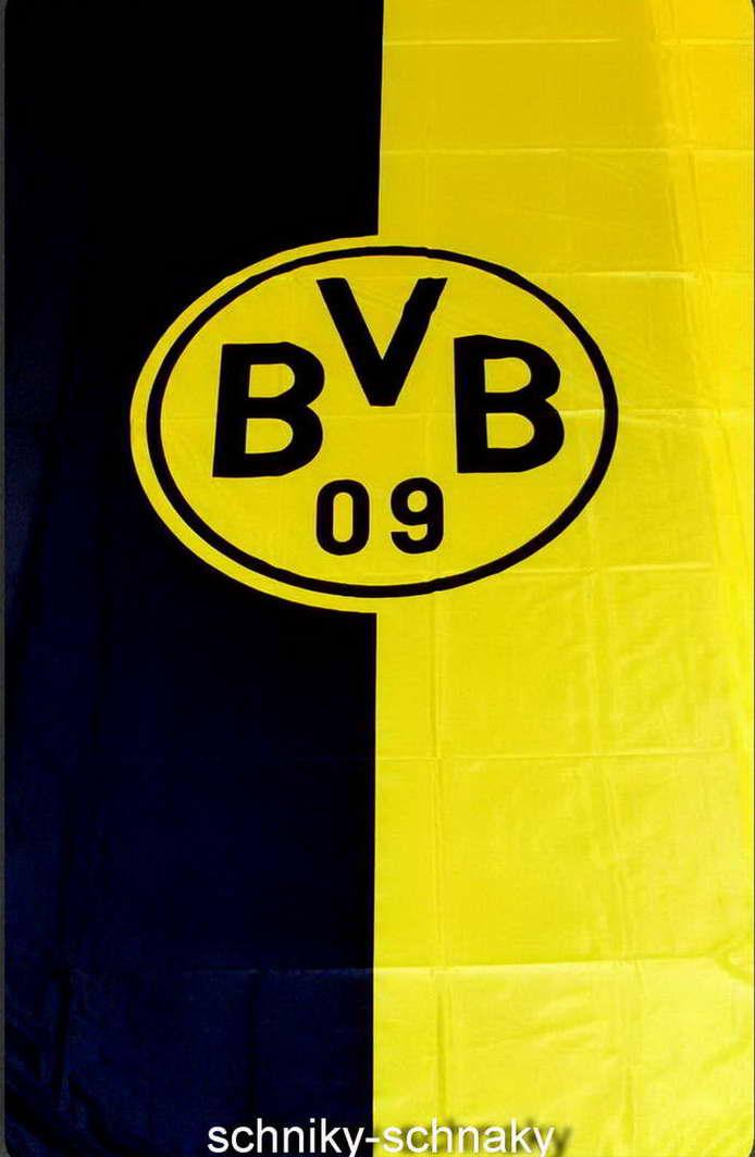 Bvb Borussia Dortmund Hissfahne Fahne Flagge 150cm X